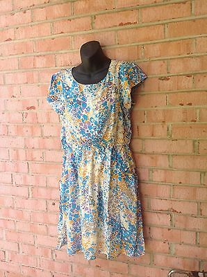 Wholesale lot of 12 extra large soft dresses with patterns