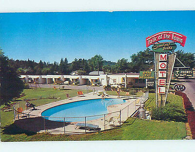 Pre-1980 TALK OF THE TOWN MOTEL Coeur D'Alene Idaho ID M2180