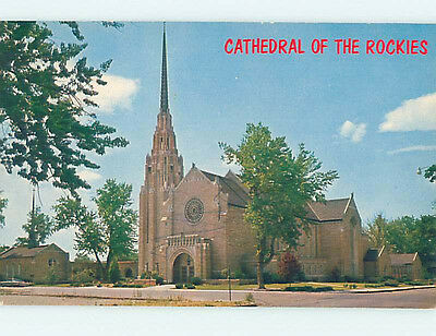 Unused Pre-1980 CHURCH SCENE Boise Idaho ID L3538