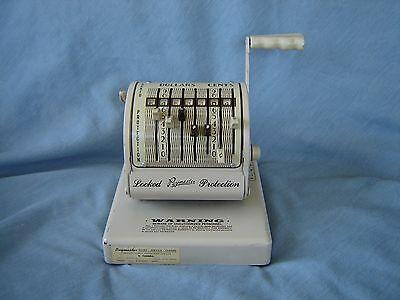 Vintage Paymaster Check Writer Series X 550