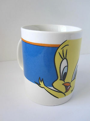 2001 Looney Tunes TWEETY Mug Warner Brothers Ceramic Coffee