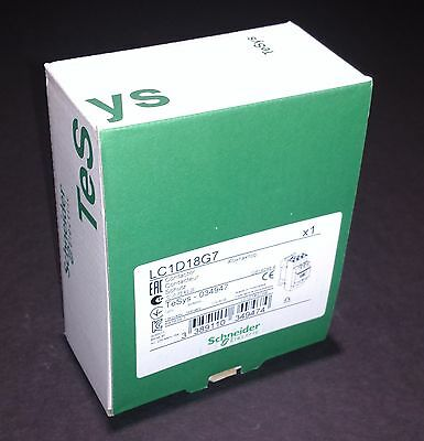 LC1D18G7 Schneider Electric Contactor - NEW