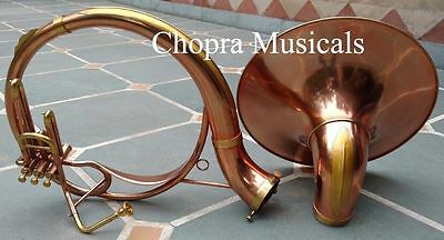Quality Sousaphone Copper & Brass Colored Bb 3V 100% Brass+Bag M/Piece FastShip