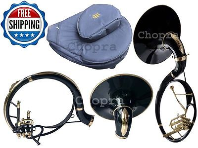 "! Christmas Sale Sousaphone 3V Painted 21"" Bell Black Bb 3 Valve with Bag+M/ P"
