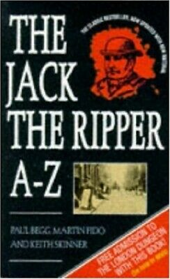 The Jack the Ripper A-Z by Skinner, Keith Paperback Book The Cheap Fast Free