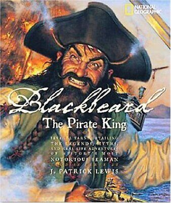 Blackbeard the Pirate King by Lewis, J. Patrick Hardback Book The Cheap Fast