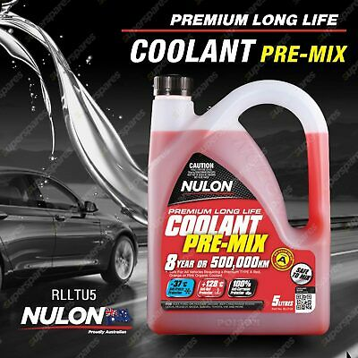Nulon Red Long Life Top-Up Coolant 5L RLLTU5 5 Litres Quality Guarantee