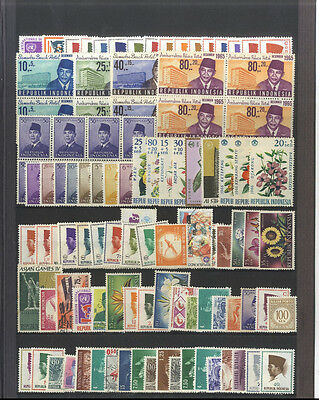 Lot 126 Timbres Anciens Indonesie Asie Asia