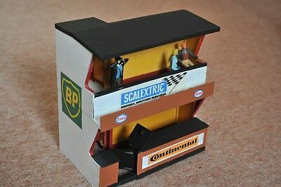 Scalextric Vintage Owners Stand and Pit with Spectators K702