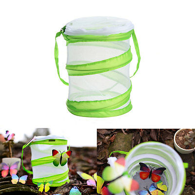 Praying Mantis Stick Insect Butterfly Cylindrical Pop-up Cage Housing Habitat