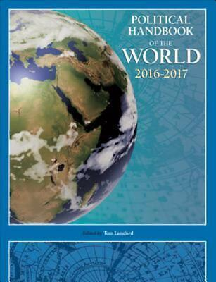 Political Handbook of the World 2016-2017 by Tom Lansford Hardcover Book Free Sh