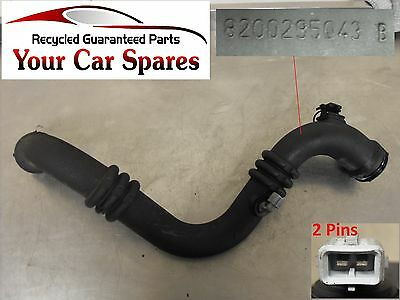 Renault Grand Espace MK4 2.0 T - Turbo Hose/Pipe - Intercooler to Inlet Manifold
