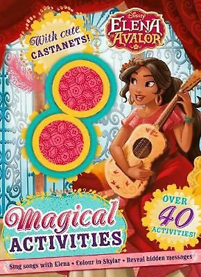 Disney Elena of Avalor Magical Activities: With Cute Castanets! by Parragon Book