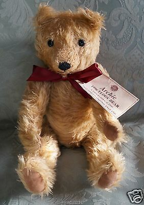 Past Times Deans Rag Book 1996 Limited Edition Bear Archie - W/ Tag - Free Ship
