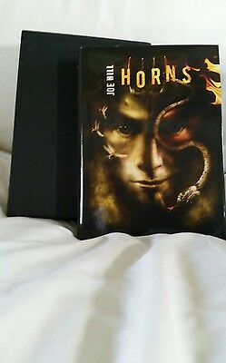 joe hill HORNS ltd ed / 500 in slipcase signed