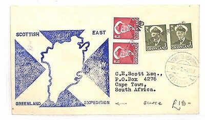 BF183 1958 GREENLAND Scottish Expedition SOUTH AFRICA Cape Town
