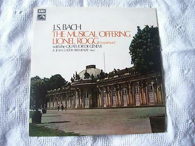 CSD 3704 LIONEL ROGG JS Bach The Musical Offering vinyl LP