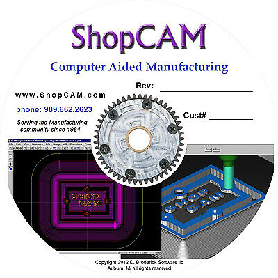 ShopCAM - CNC CAM software - 2.5 Axis: Mill-Lathe-WEDM-Plasma-Router-Punch etc