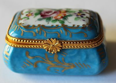 Decor Main Porcelaines Champs Elysees Paris France Trinket Box