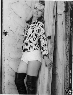Debbie Deborah Harry Blondie B/W 8x10 Glossy Photo #1