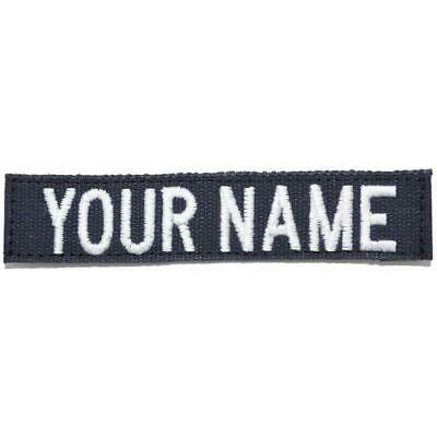 Custom Nylon/Cotton Webbing Name Tape - Navy