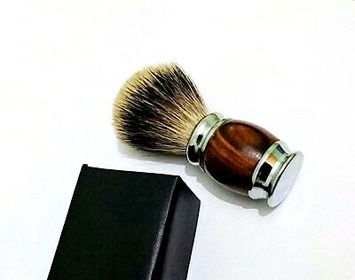 Shaving Brush Made With High Quality Silvertip Badger/pennello Da Barba Silverti