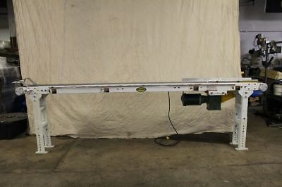 """11 Foot 6"""" Belt Conveyor With Drive Tested Working With 1/2HP 115V Drive"""