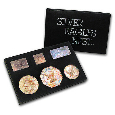 1969 Silver Eagles Nest 6-Piece Set - SKU #64354