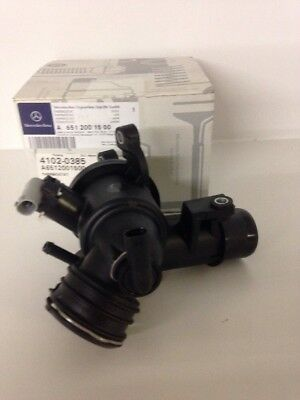 New Genuine Mercedes-Benz OM651 Engine thermosat housing with stat A6512002800
