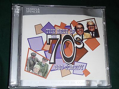 THE BEST OF THE 70's ..BBC COMEDY  on 2 x cd's