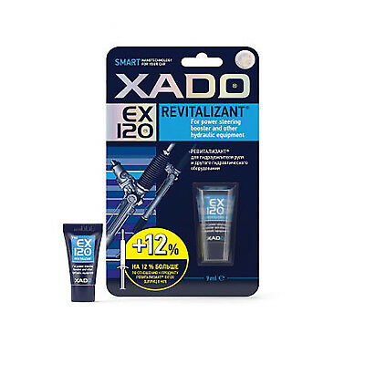 XADO EX120 Revitalizant for Power Steering Booster & Hydraulic Equipment 9ml NEW