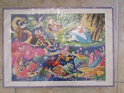 Disney Vintage Alice In Wonderland Japanese 2000 Piece Jigsaw Puzzle Rare HTF