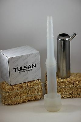 1 Silicone liner for cow and 1 Teat cup shell by Tulsan