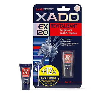 XADO EX120 Revitalizant Additive For Petrol and LPG Engines NEW AND LARGER PACK
