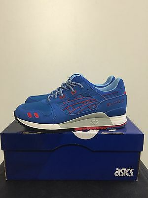 4242 Trainers Iii Gel Men Shoes 3 Asics H637y Blue Lyte Mid New Running 7ybf6g