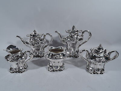 Black, Starr & Frost Tea & Coffee Set - 1028 - American Sterling Silver