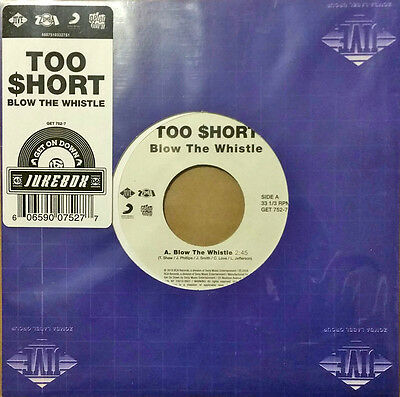 "Too Short ‎– Blow The Whistle 45 7"" Get On Down Jukebox $hort Rap Hip Hop"
