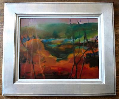 Maggie New – Contemporary Abstract Scottish Landscape Oil Painting