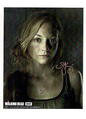 Emily Kinney Authentic Signed Autograph Montreal Comiccon 2014 The Walking Dead