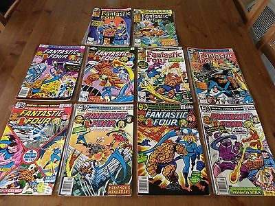 Collection Of 10  Fantastic Four Comics 1978-1980