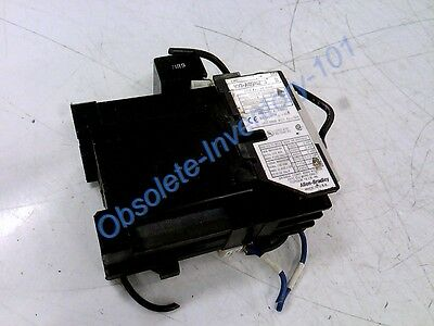 ALLEN BRADLEY CONTACTOR 9AMP 3POLE 24VDC W/AUX ON RIGHT NO Alter 100-A09NZ24-3