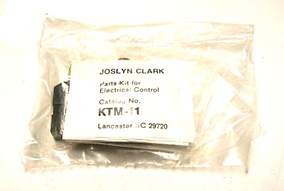 New Sealed Joslyn Clark Ktm-11 Auxiliary Contact
