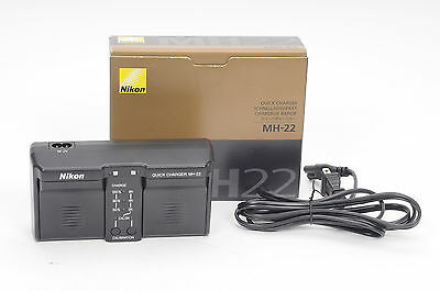 Nikon MH-22 Dual Battery Quick-Charger for the EN-EL4 & EN-EL4a 25375       #333