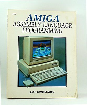Amiga Assembly Language Programming, COMMANDER, J Paperback Book The Cheap Fast