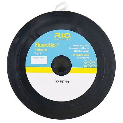 NEW FLUOROFLEX SALTWATER TIPPET 25LB 30YD SPOOL fly fishing strong snook muskie