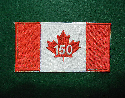 """Canada Tactical 150 Anniversary Patch 2"""" X 4"""""""