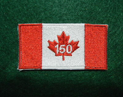 "Canada Tactical 150 Anniversary Flag Patch 2 3/4"" X 1 3/8"""