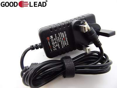 5V YDT AC 005 IPTV Set Top Box MAG250 UK Mains Power Supply Adapter Cable NEW