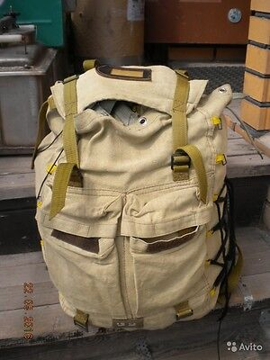 Russian Spetsnaz BACKPACK sand color camo Original durable canvas 35L Chechen