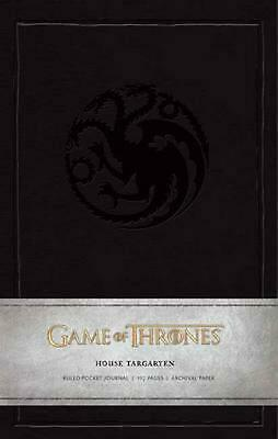 Game of Thrones: House Targaryen Ruled Pocket Journal by Insight Editions Hardco